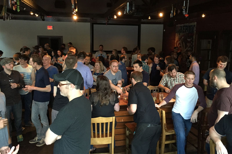 CodePen Sparkbox Party at Converge SE